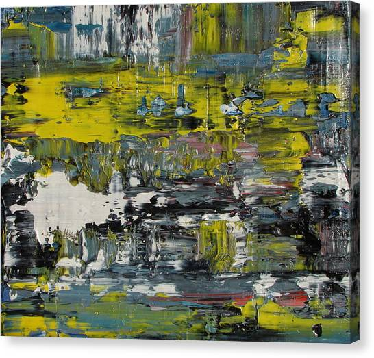 Gerhard Richter Canvas Print - Failing Insight by Daniel Johnstone