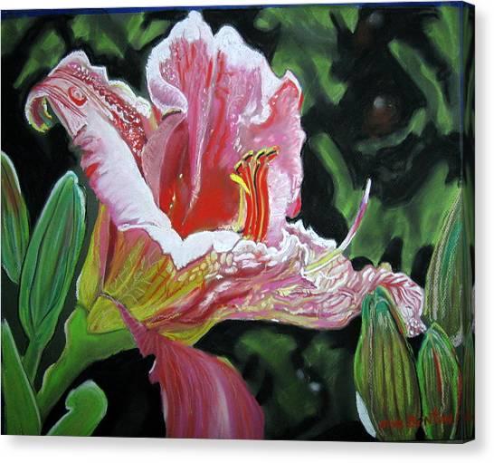 Fair And Tender Lady Canvas Print