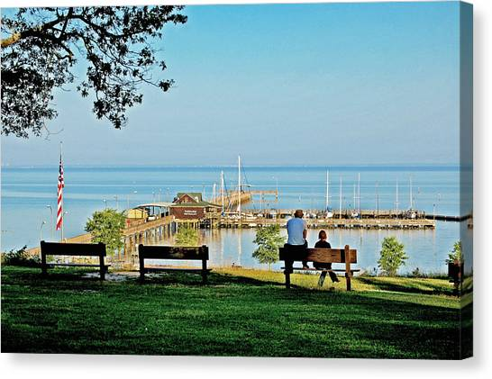 Fairhope Alabama Pier Canvas Print