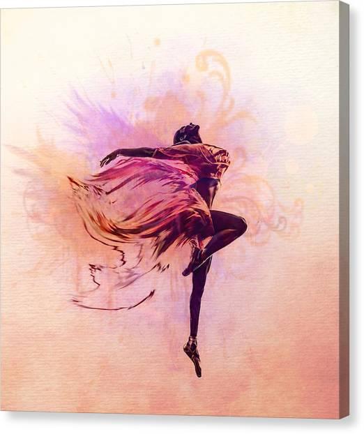 Fairy Dance Canvas Print