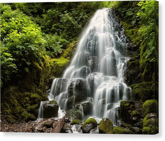 Fairy Falls Canvas Print