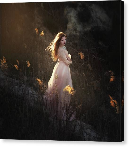 Spirit Canvas Print - Fairy by Paulo Dias