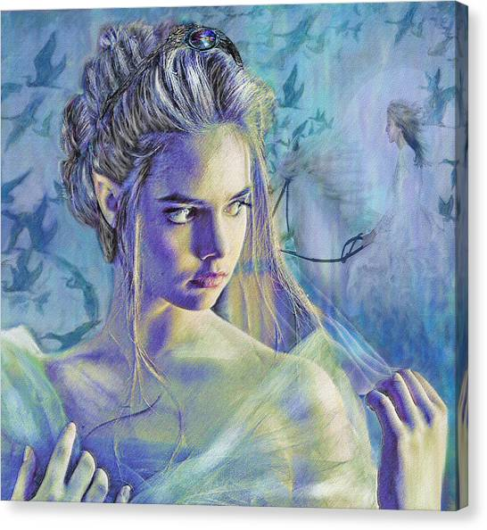 Fairy Queen Canvas Print by Jane Schnetlage