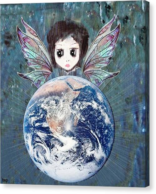 Fairy Star Canvas Print by Robert Stagemyer