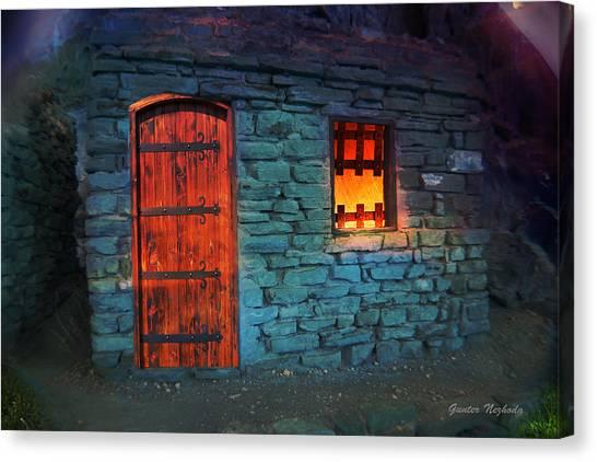 Fairy Tale Cabin Canvas Print
