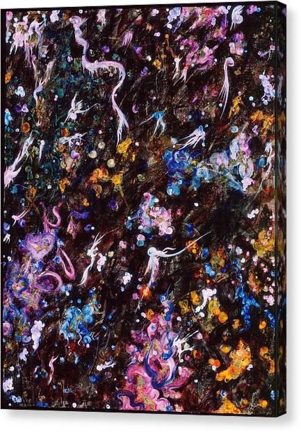 Fairy Tale Evening Canvas Print