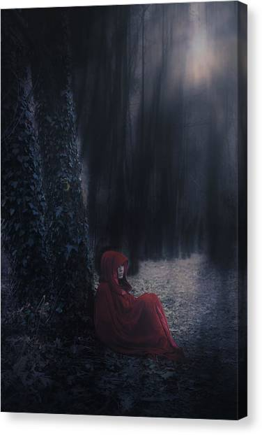 Anxious Canvas Print - Fairy Tale by Joana Kruse