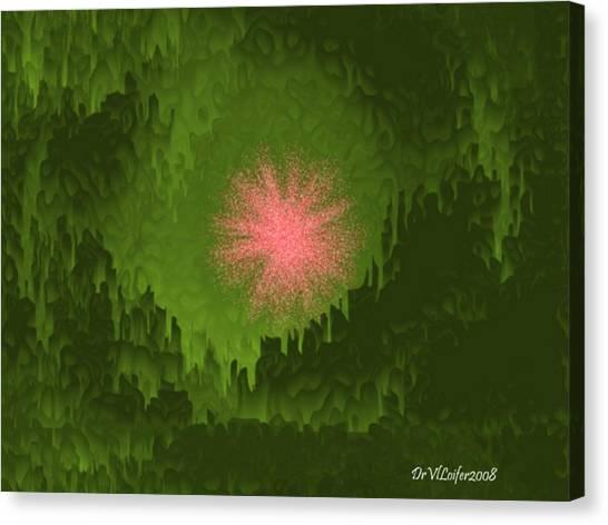 Fantasy Cave Canvas Print - Fairy Tale Of Three Kings by Dr Loifer Vladimir