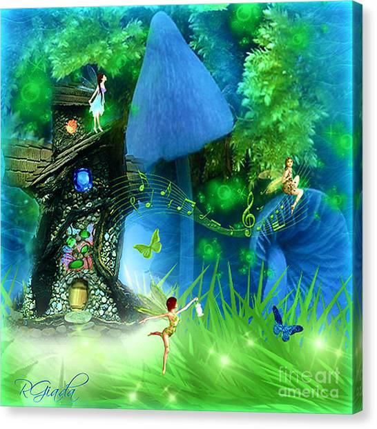 Fairyland - Fairytale Art By Giada Rossi Canvas Print