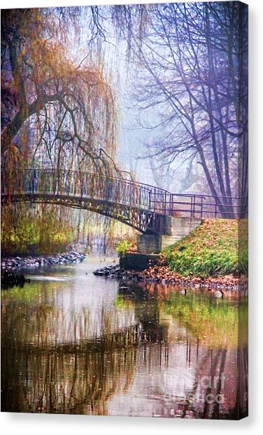 Fairytale Bridge Canvas Print