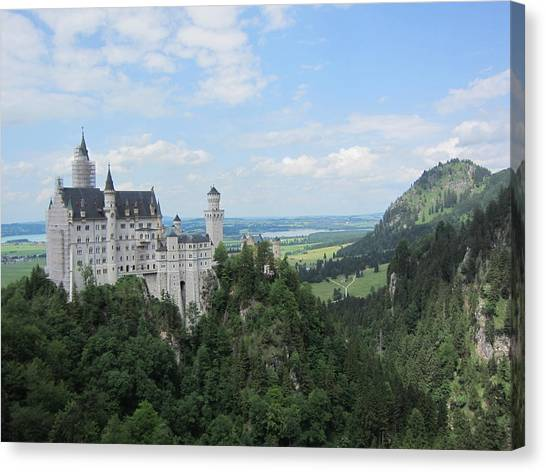 Fairytale Castle - 1 Canvas Print