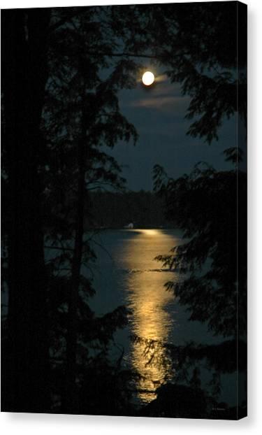 Fairytale Moon Canvas Print by RJ Martens