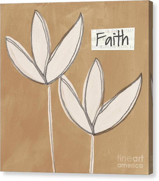 Buddhist Canvas Print - Faith by Linda Woods