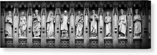 Westminster Abbey Canvas Print - Faithful Witnesses by Stephen Stookey