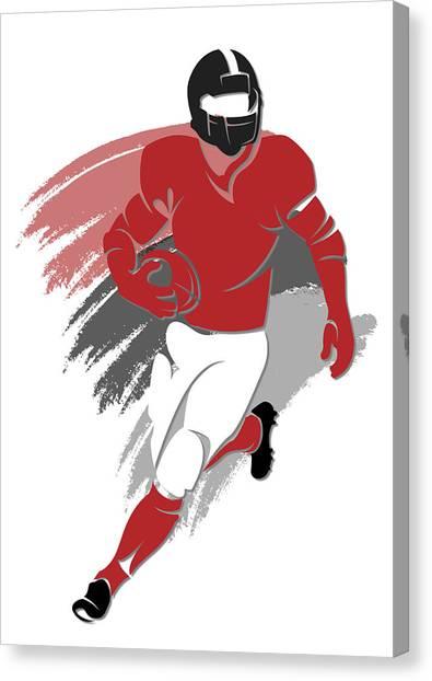 Atlanta Falcons Canvas Print - Falcons Shadow Player2 by Joe Hamilton