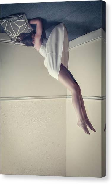 Dress Canvas Print - Fall by Alex Moldovan