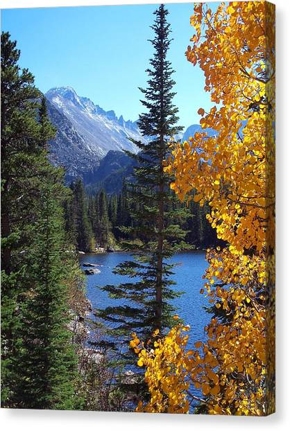 Fall At Bear Lake Canvas Print