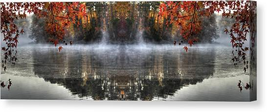 Fall At Lake Soddy Canvas Print