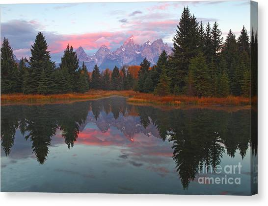 Fall At Schwabacher's Canvas Print