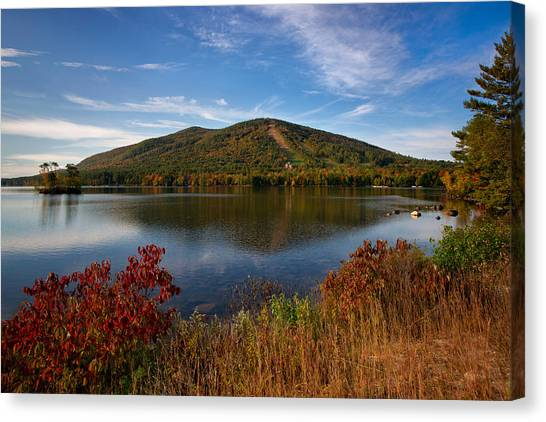 Fall At Shawnee Peak Canvas Print