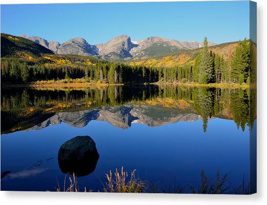 Fall At Sprague Lake Canvas Print
