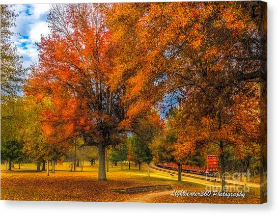Fall At The Fort Canvas Print