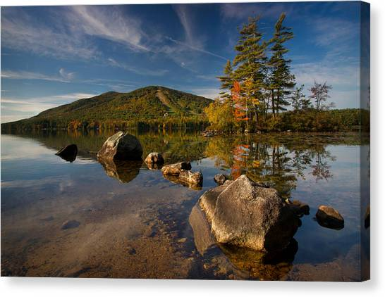 Fall At The Mountain Canvas Print