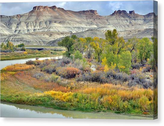 Fall Colors At Scott's Bottom Canvas Print
