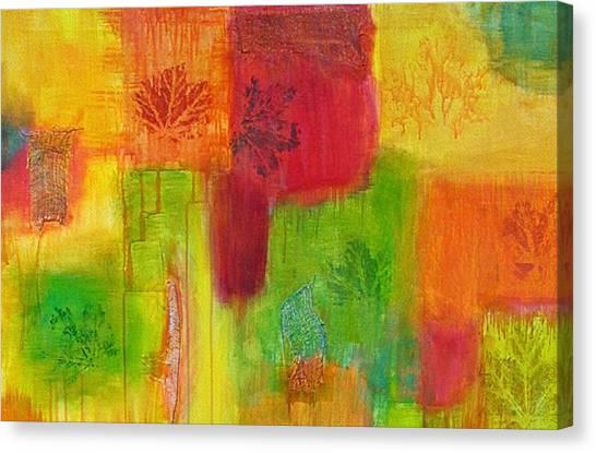 Fall Impressions Canvas Print