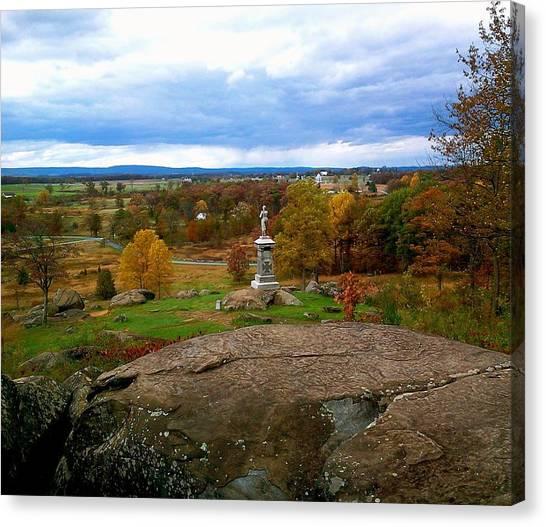 Fall In Gettysburg Canvas Print