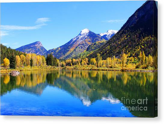 Fall In Marble Canvas Print