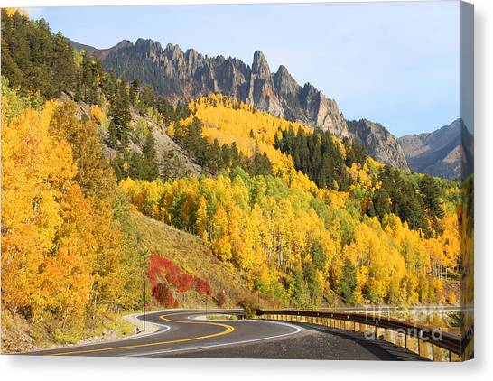 Fall In Telluride Canvas Print