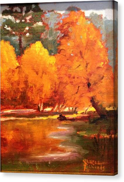 Fall  Canvas Print by Jenell Richards