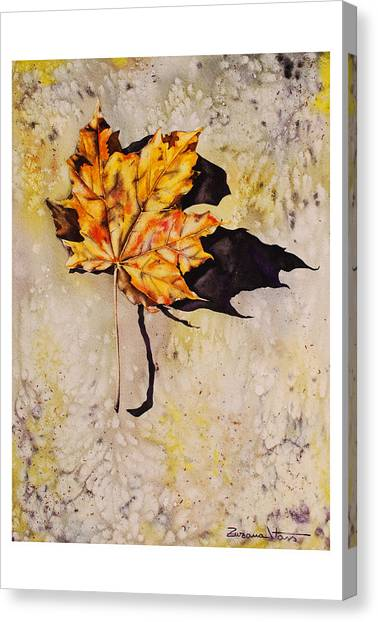 Canvas Print - Fall Leaf by Zuzana Vass