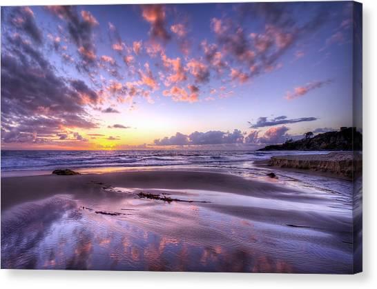 Fall Ocean Colors Canvas Print