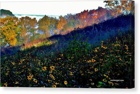 Fall On Garvin Heights Canvas Print