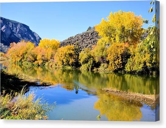 Fall On The Rio Grande Canvas Print