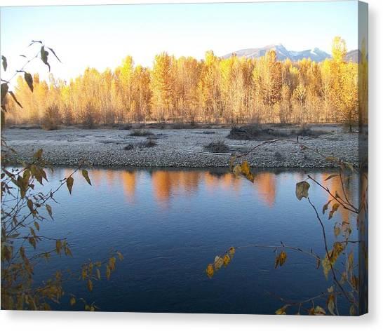 Fall Reflection 2 Canvas Print