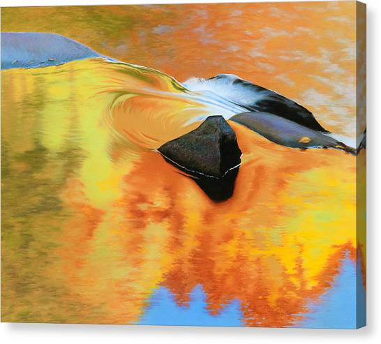 Fall Reflections Canvas Print by Bruce Richardson