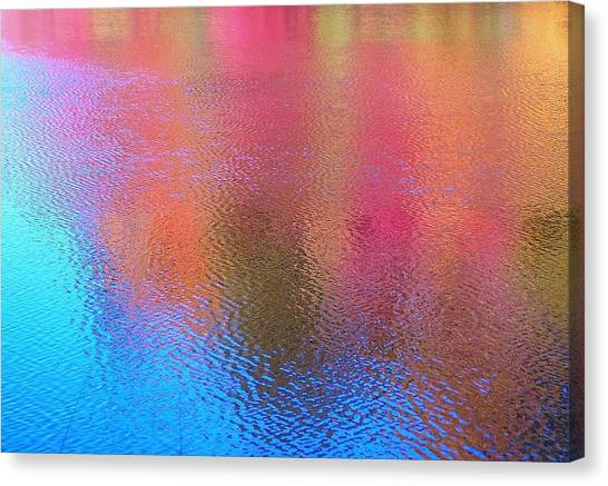 Fall Reflections In South Canvas Print