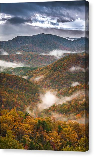 Fall Ridges Canvas Print