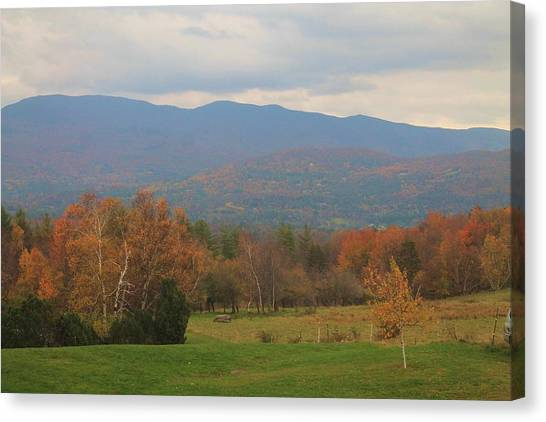 Fall Scene  Canvas Print