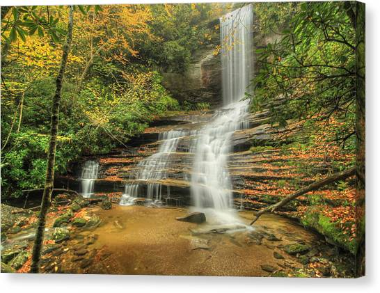 Fall Water Canvas Print