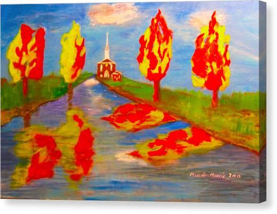 Fall Worship Canvas Print
