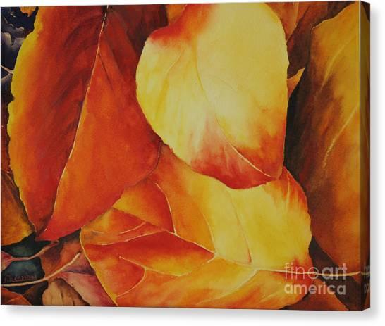 Fallen Colors Canvas Print