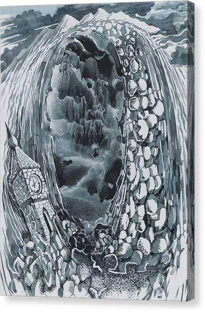 Fallen Time Canvas Print