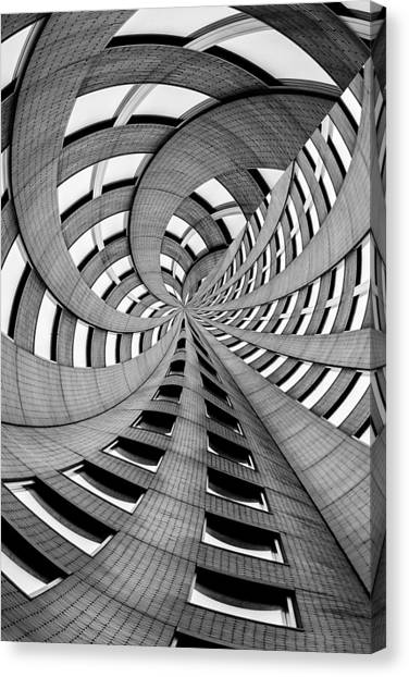 Spiral Canvas Print - Falling Into by Az Jackson