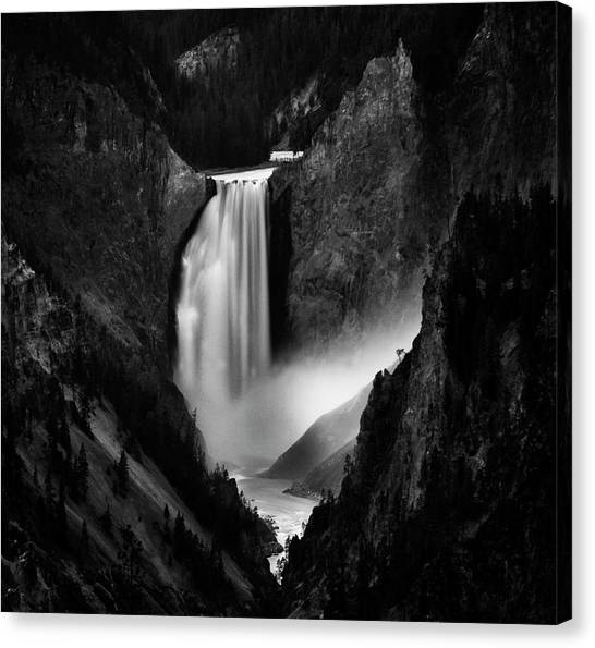 Yellowstone Canvas Print - Falling Rivers by Yvette Depaepe