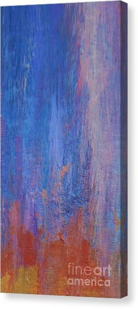 Post-modern Art Canvas Print - Falling Up by John Clark