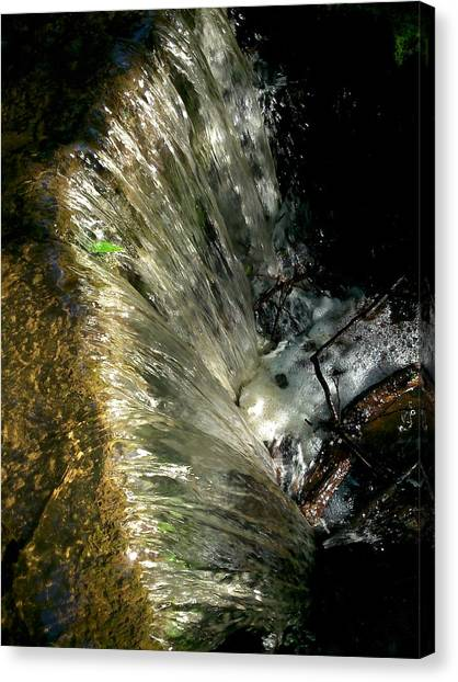 Falling Water Canvas Print by Phil Nolan